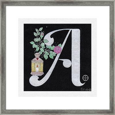 Archangel A Framed Print by Art By LaRoque