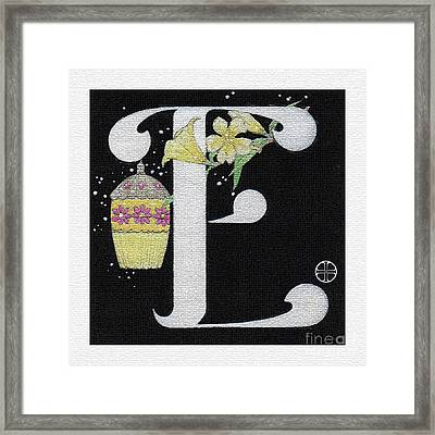 Archangel E Framed Print by Art By LaRoque