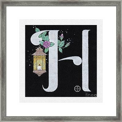 Archangel H Framed Print by Art By LaRoque