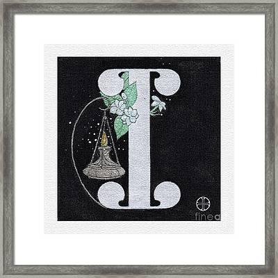 Archangel I Framed Print by Art By LaRoque