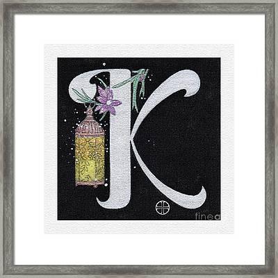 Archangel K Framed Print by Art By LaRoque