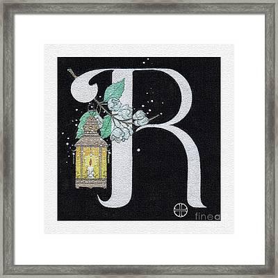Archangel R Framed Print by Art By LaRoque