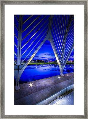 Arches At Sunset Framed Print by Marvin Spates