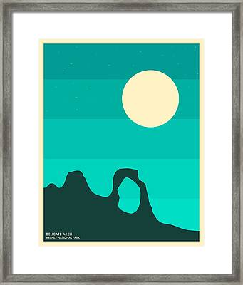 Arches National Park Framed Print by Jazzberry Blue