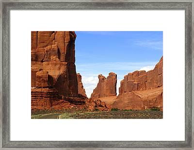Arches Park 2 Framed Print by Marty Koch