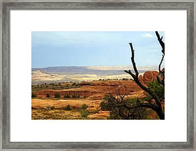 Arches Vista Framed Print by Marty Koch