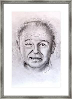 Archie Framed Print by Jack Skinner