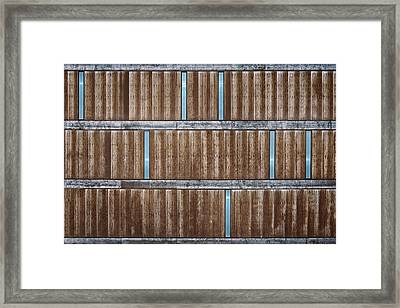 Architectural Dna Framed Print by Scott Norris