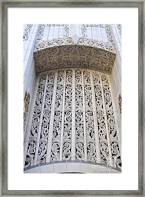 Architecture Downtown Los Angeles Framed Print by Clayton Bruster