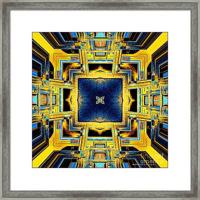 Architecture Wall Art Framed Print by Mona Stut