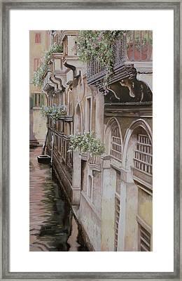 architetture di  Venezia Framed Print by Guido Borelli