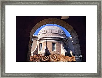 Archways In The Courtyard Of The Museum Of Vieille Charite Framed Print by Sami Sarkis