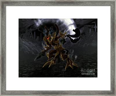 Arcnomic Champion Framed Print by Bruno Cesar