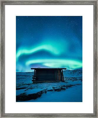 Arctic Escape Framed Print by Tor-Ivar Naess