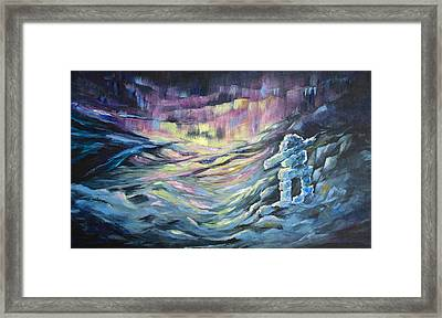 Arctic Experience Framed Print by Joanne Smoley