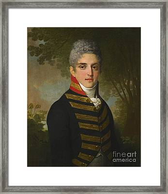 Ardalion Petrovich  Framed Print by MotionAge Designs