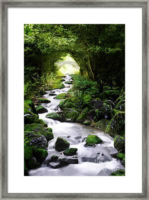 Arden Bridge Framed Print by John Edwards