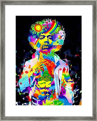 Are You Experienced? Framed Print by Callie Fink