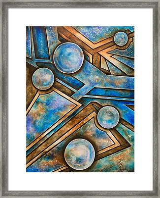 Arena Framed Print by Tripp Doogan