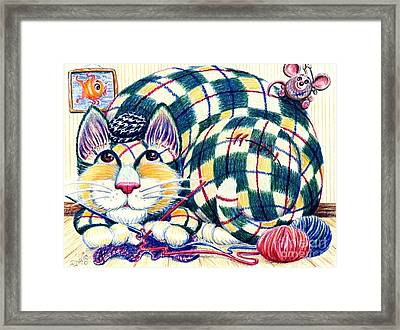 Argyle Framed Print by Dee Davis