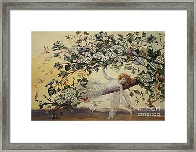 Ariel Framed Print by John Anster Fitzgerald