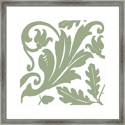 Arielle Olive Framed Print by Mindy Sommers
