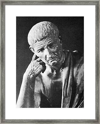 Aristotle, Framed Print by