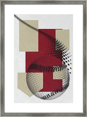 Arizona Diamondbacks Art Framed Print by Joe Hamilton