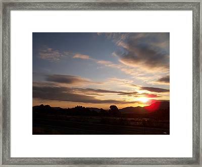 Arizona Sunrise Framed Print by Glenn McCarthy Art and Photography