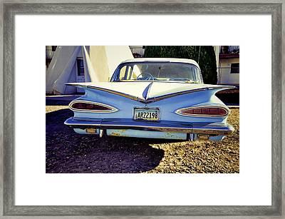 Arizona Teepee Framed Print by Jan Amiss Photography