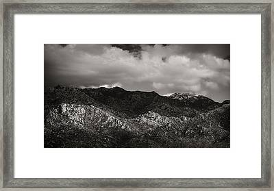 Arizona Textures Framed Print by Joseph Smith