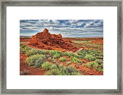 Arizona's Wupatki Ruins National Monument  Framed Print by Jennifer Rondinelli Reilly