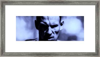 Arjen Robben 2a Framed Print by Brian Reaves