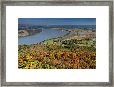 Arkansas Framed Print by Christian Heeb