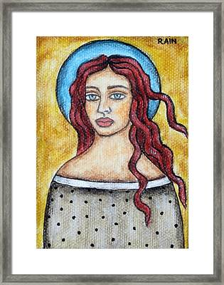 Arlene Framed Print by Rain Ririn
