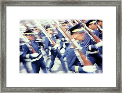 Armed Forces Of Colombia 11 Framed Print by Daniel Gomez