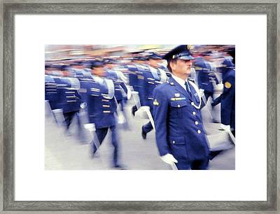 Armed Forces Of Colombia 12 Framed Print by Daniel Gomez