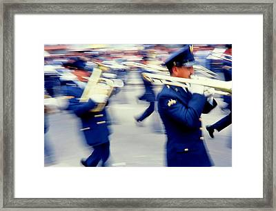 Armed Forces Of Colombia 9 Framed Print by Daniel Gomez