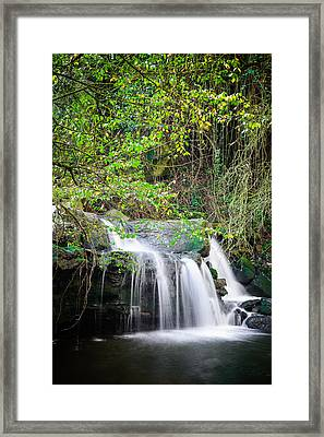 Armes Waterfall Framed Print by Marco Oliveira