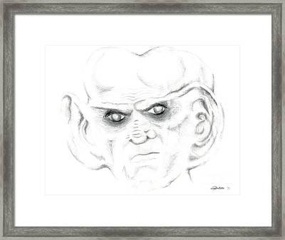Armin Framed Print by Kim Sy Ok