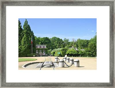 Framed Print featuring the photograph Armistice Clearing In Compiegne by Travel Pics