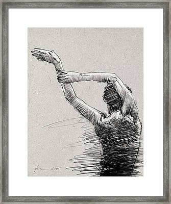 Arms And Shoulders Framed Print by H James Hoff
