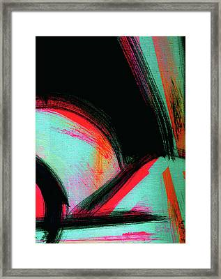 Arms Up. Abstraction From, Headphones And Candy. Framed Print by Tiffany Figueroa
