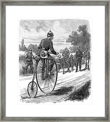 Army Messenger, 1890s Framed Print by Granger