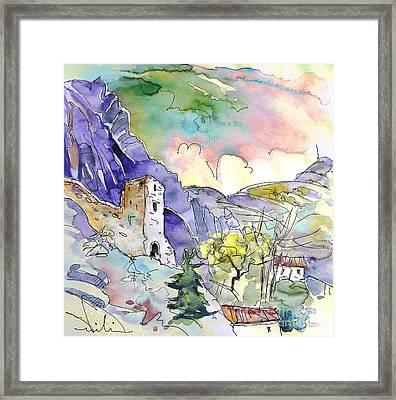 Arnedillo In La Rioja Spain 03 Framed Print by Miki De Goodaboom