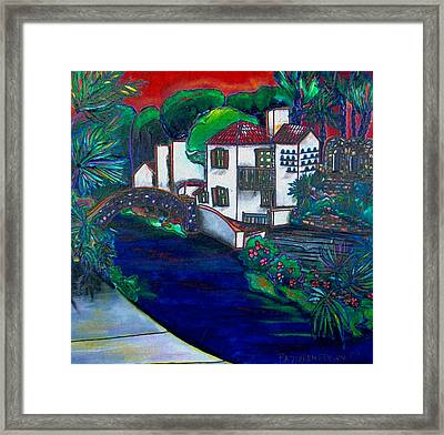 Arneson Theater Framed Print by Patti Schermerhorn