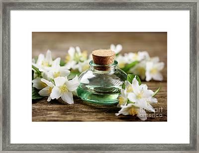 Aromatic Oil Framed Print by Jelena Jovanovic