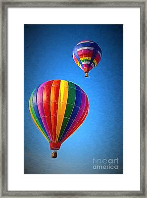 Around The World Framed Print by A New Focus Photography