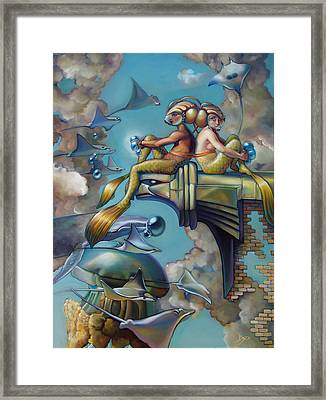 Array Of Hope And Change Framed Print by Patrick Anthony Pierson