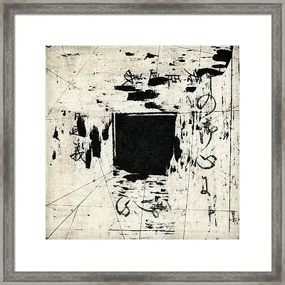 Arrhythmic Number One Framed Print by Carol Leigh